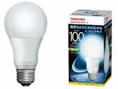 東芝 LED電球 一般電球形 12.9W(昼白色相当)TOSHIBA E-CORE(イー・コア) LDA13N-G/100W
