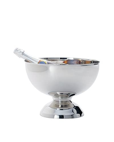 Torre and Tagus Small Landon Stainless Steel Punch Bowl Wine Chiller
