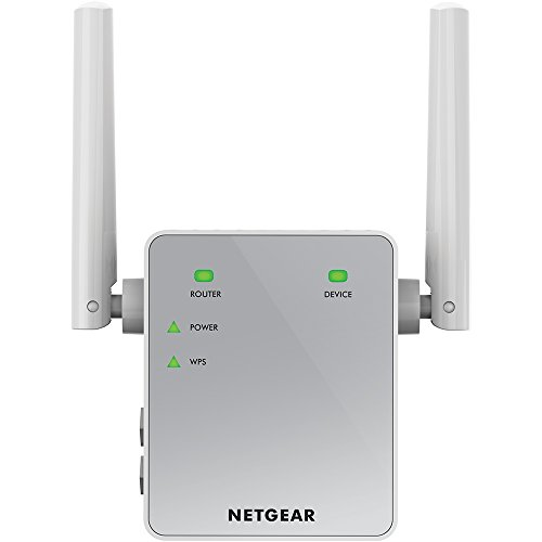 NETGEAR AC750 WiFi Range Extender (EX3700-100NAS) (Dual Band Range Extender Repeater compare prices)