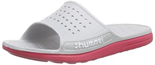 HummelHUMMEL SPORT SANDAL - Scarpe da Spiaggia e Piscina Unisex - Adulto, Grigio (Grey (Vapor Blue 1079)), 46