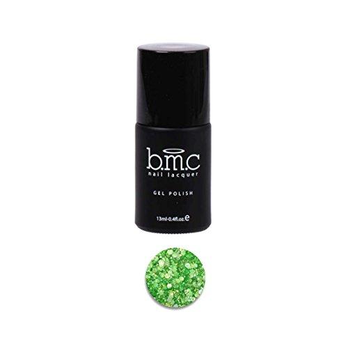 Bmc Mixed Size Hexagon Shaped Glitter Uv/Led Green Nail Lacquer Gel Polish - Woodland Fantasy, Pixie Dust