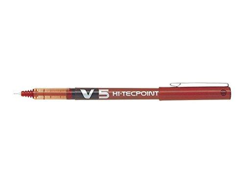 Pilot Hi-Tecpoint V5, Penna a Sfera con Inchiostro Liquido