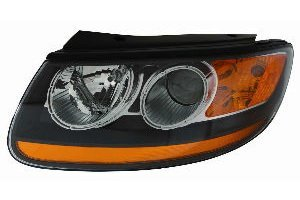 -AC2 Head Lamp Assembly (Capa Certified, Passenger Side): Automotive