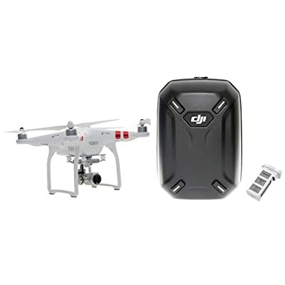 DJI Phantom 3 Standard (w/ Extra Battery and Hard Shell Backpack)