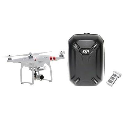 DJI Phantom 3 Standard (w/ Extra Battery and Hard Shell Backpack)