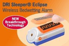 DRI Sleeper Wireless Eclipse Bedwetting Alarm Black Friday & Cyber Monday 2014