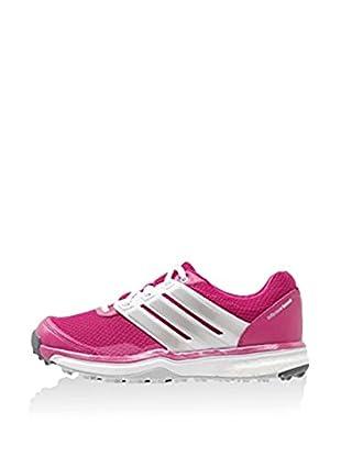 adidas Zapatillas Adipower Sport Boost 2 (Rosa / Blanco / Plata)