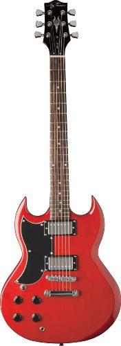 Jay Turser 50 Series Jt-50-Lh-Tr Electric Guitar, Left Handed , Transparent Red