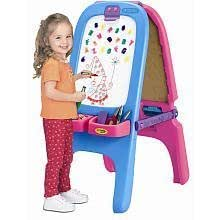 Crayola Magnetic Double Sided Easel Pink