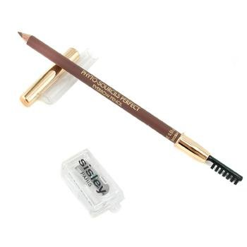 Sisley Phyto Sourcils Perfect Eyebrow Pencil with Brush and Sharpener Chatain, 0.01 Ounce