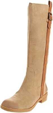 Jessica Simpson Women's Vanitiya Knee-High Boot,Dune Yale Leather,6 M US