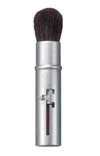 Avon Retractable Silver Bullet Cosmetic Travel Makeup Blush Brush