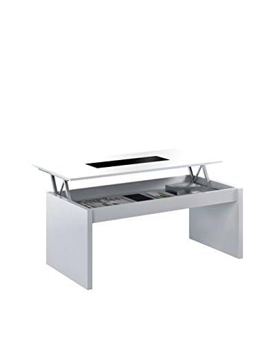 Basic Home Tavolino Ausiliario Delfi C1 Bianco