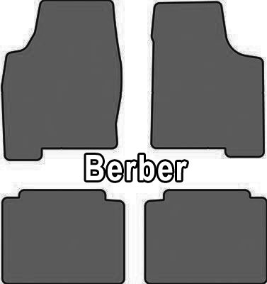 2000-2011 Ford Crown Victoria Berber 4 Pc Car Mat Set Berber Cruiser Mat Color: Dark Grey