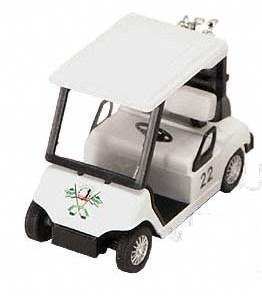Measures 4.5 Inches Long. - Pull Back Golf Cart Superior