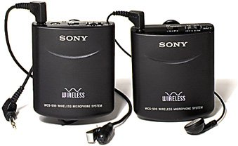 Sony Professional Quality 900 Mhz Wireless Microphone System