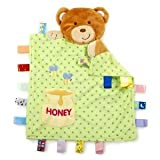 Taggies Peek-A-Boo Blanket - Promotes Develop Of Fine Motor Skills, Hand-Eye Coordination & Language Baby / Child / Infant / Kid