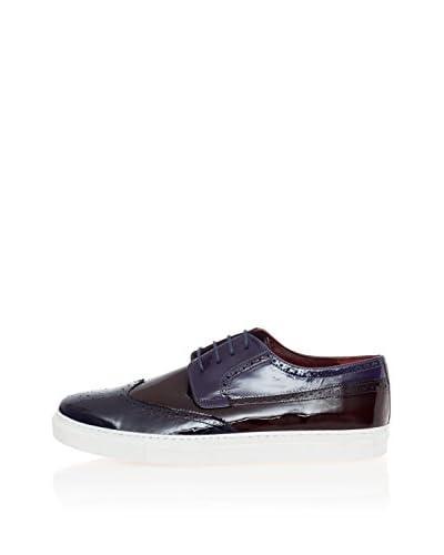 Deckard Zapatos de cordones King Azul / Burdeos