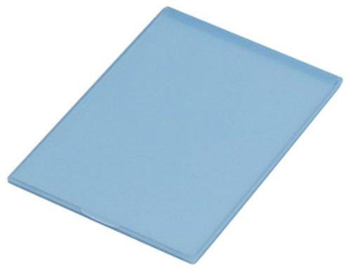 スリム&ライト・パステルカラーコンパクトミラー L ブルー