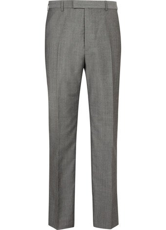 Austin Reed Contemporary Fit Grey Mohair Trousers REGULAR MENS 32