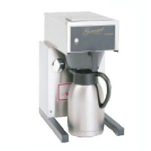 "Bloomfield 8785-Al Gourmet 1000 Thermal Brewer, Pour-Over Option, 14"" Depth, 10"" Width, 17 3/4"" Height front-512543"