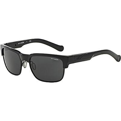 Arnette Dean Unisex Outdoor Sunglasses - 41/87 Gloss Black/Grey