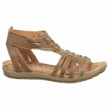 Bare Traps Women's Roanna Gladiator Sandals in Auburn Size 7.5 at Amazon.com