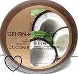 Delon+ Intensely Moisturising Luxurious Body Butter: COCONUT 200ml Tub