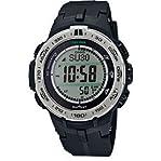 Casio PROTREK Slim Line Series Solar Multiband 6 Triple Sensor Ver.3 Men's Watch PRW-3100-1ADR