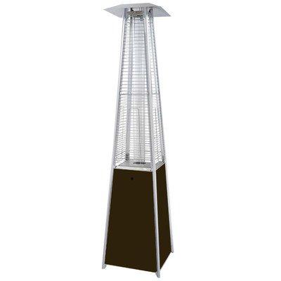AZ Patio Heaters HLDSO-WGTHG Quartz Glass Tube Patio Heater, Hammered Bronze image