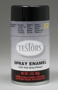 Semi gloss Gray Spray Primer Testors