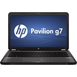 HP Pavilion G7-1117CL AMD A-series 1.9GHz 4GB 500GB DVD+/-RW 17.3 LED BrightView Win 7 (Black)