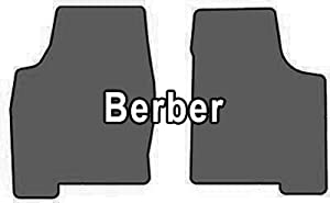 2005-2008 Honda Pilot Berber 2 Pc Front Mats Berber Cruiser Mat Color: Light Grey