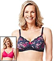 2 Pack Post Surgery Push-Up A-DD Bras