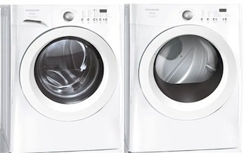 Frigidaire Affinity White 3.7 Cu. Ft. Front Load Washer & 7.0 Cu. Ft. Electric Dryer W/Ready Steam Fafw3921Nw_Fase7021Nw