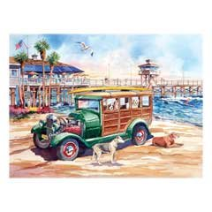 California Dreams-Dog Days Of Summer 1000 Piece Puzzle - 1