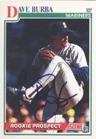 Dave Burba Seattle Mariners 1991 Score Prospect Autographed Hand Signed Trading Card... by Hall+of+Fame+Memorabilia
