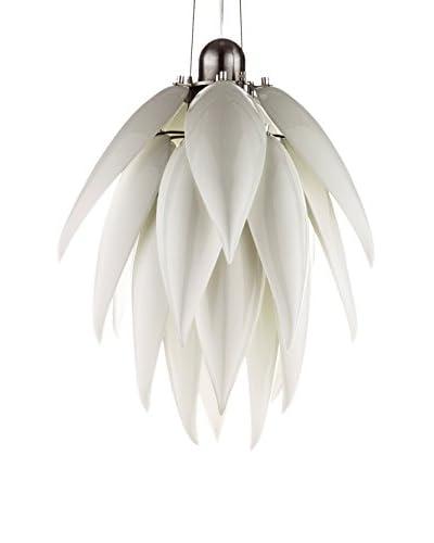 Iconscorner Lámpara De Suspensión Aloe Bud Blanco