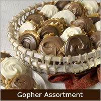 Savannah's Assorted Chocolate Gophers (27pc Gift Box)