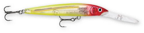 Review: Rapala Down Deep Husky Jerk 10 Fishing lure, 4-Inch, Glass Clown  Review