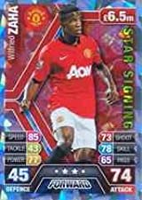 Match Attax 2013/2014 Wilfired Zaha Manchester United Star Signing 13/14