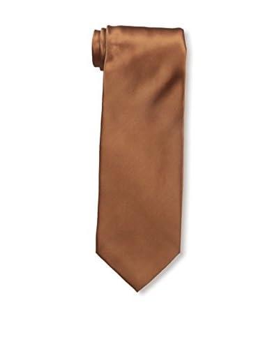 Valentino Men's Silk Tie, Rust