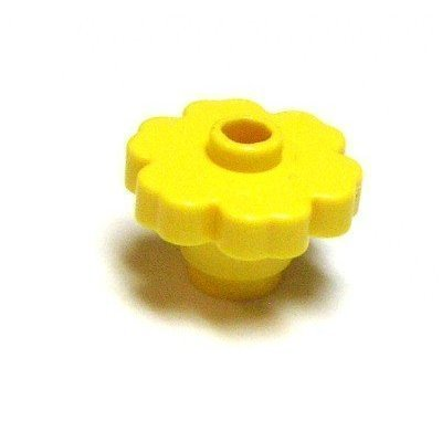 Lego Building Accessories Bright Yellow Flower, Bulk - 25 Pieces per Package - 1