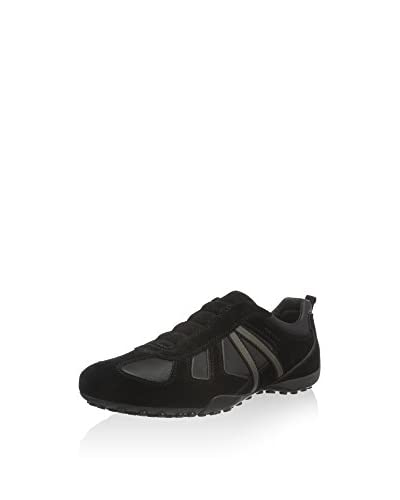 Geox Sneaker U Snake R anthrazit/dunkelbraun