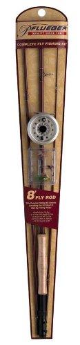 Pflueger Fly Kit, 8-Feet 0-Inch