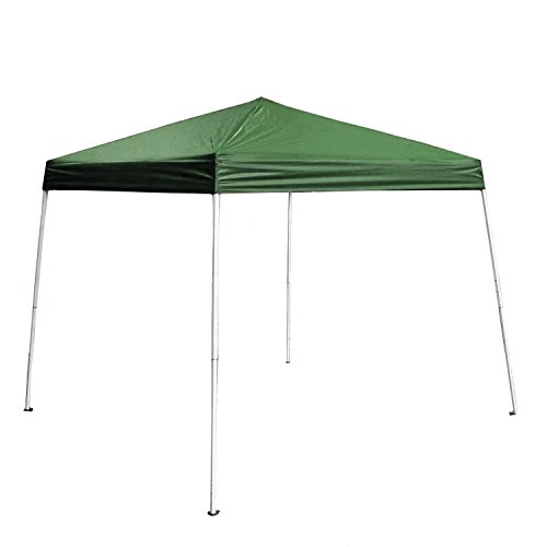 Green Color Canopies : Aleko x iron foldable gazebo canopy for outdoor events