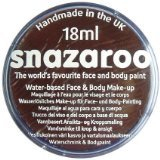 Snazaroo Water Based Face & Body Make Up For Fancy Dress - Dark Brown 18ml