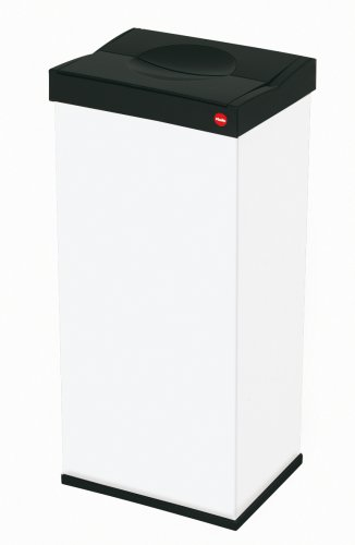 Hailo Big-Box 60 Waste Bin, White, 60L