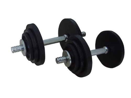 Golds Gym Mens Hammertone Dumbbell Set - 20 kg