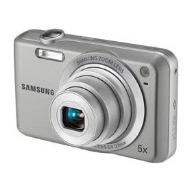 Samsung SL50 10.2 MP Digital Camera with 5X Optical Zoom and 2.5-Inch LCD Display (Silver)